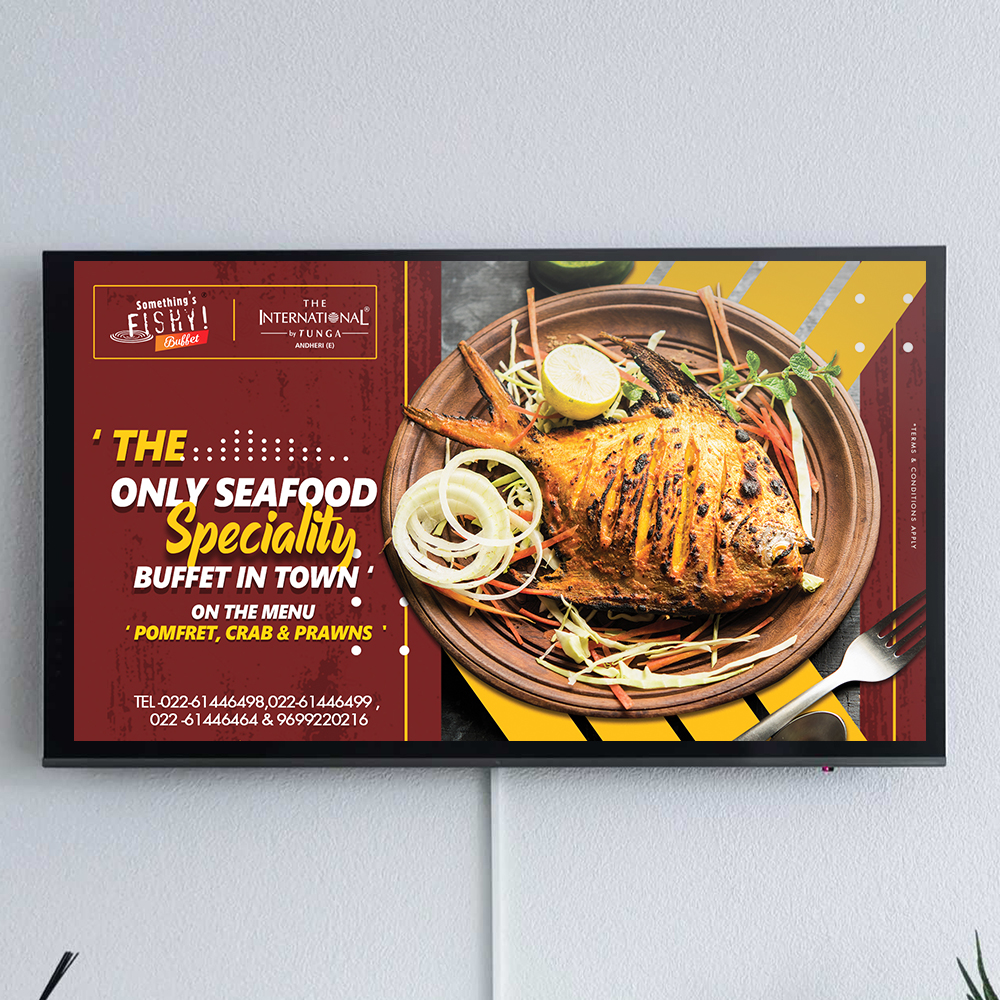 television screen 2 ( offer buffet )